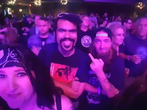 Angi Marie, Andy Warpigs, Geri Wright at the Juliette Lewis show
