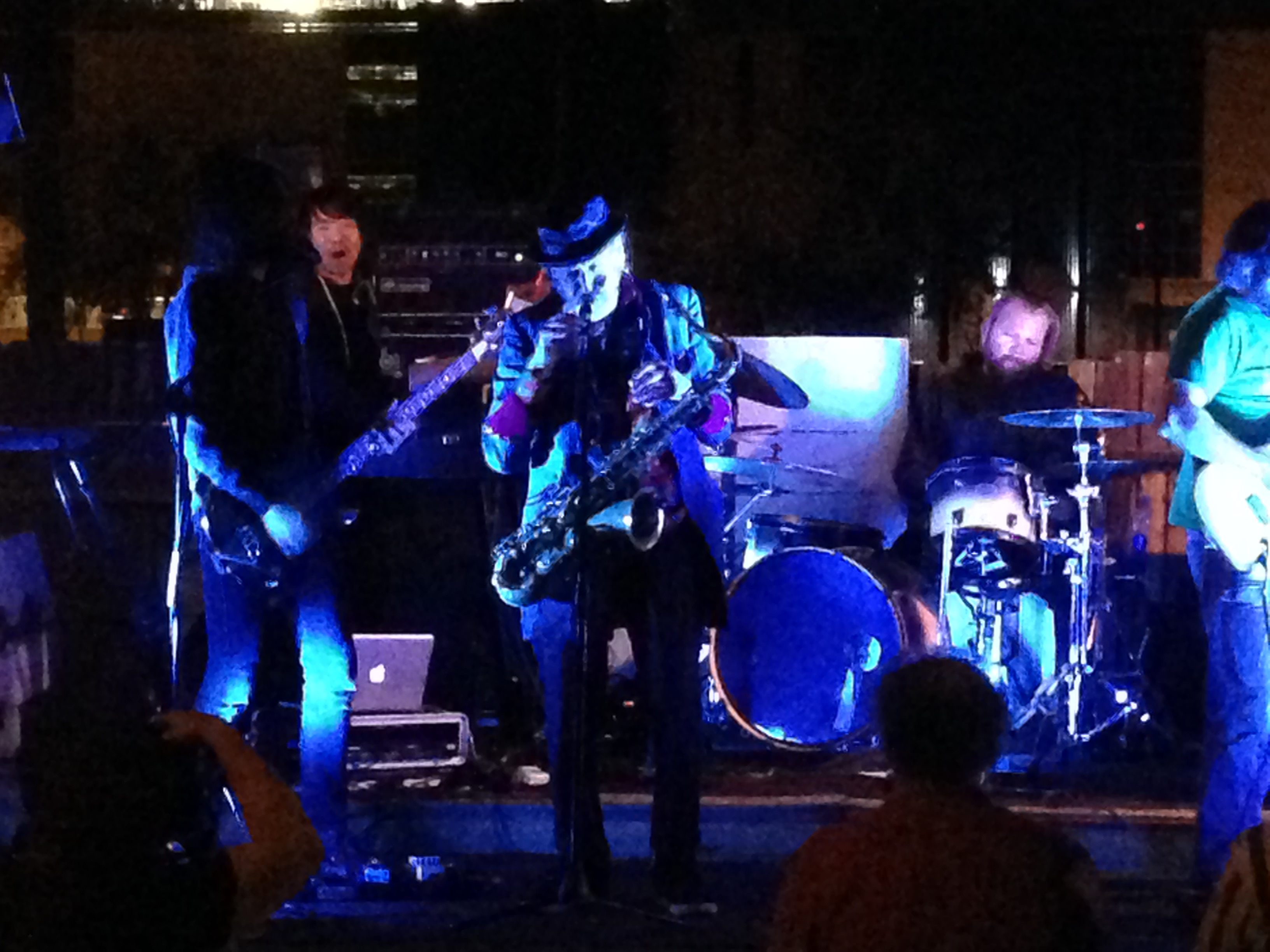 Lawn Gnome Lifts Off With Nik Turner's Hawkwind   PHX SUX