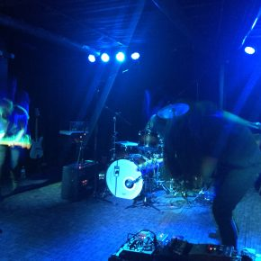 HEALTH & HO99O9 made us sweat at The Rebel Lounge