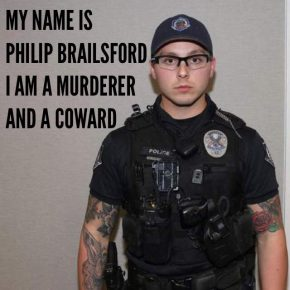 Officer Philip Brailsford Walks in Murder of Daniel Shaver